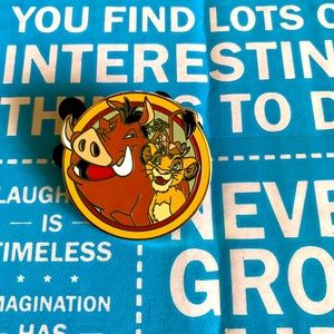Disney's Best Friends Pin Simba, Timon, & Pumbaa